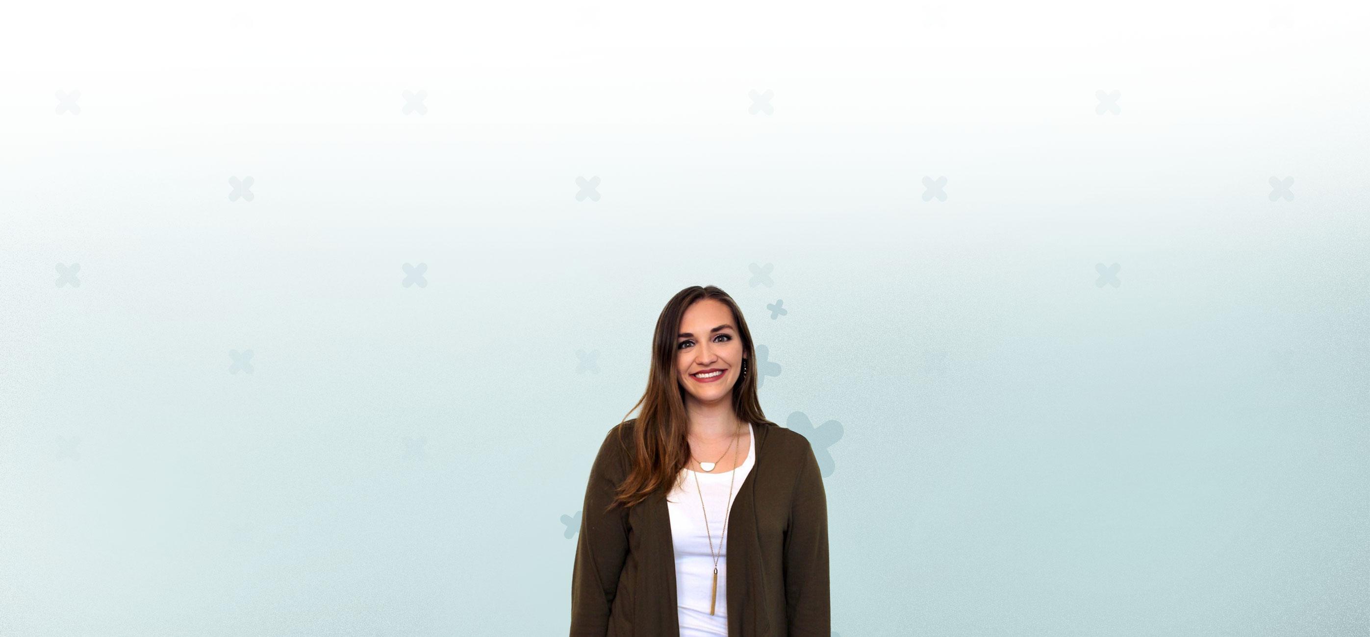 female employee banner mobile